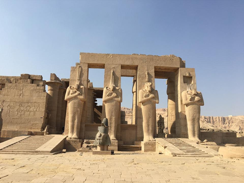 Świątynia w Egipcie