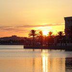 zachód słońca Tunezja